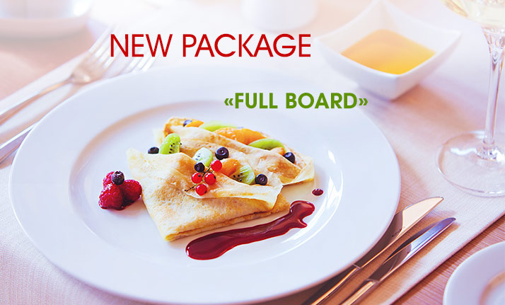 NEW PACKAGE - FULL BOARD